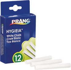 Dixon Prang Hygieia Dustless White Chalk (31144)