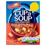 Batchelors Cup A Soup Minestrone - 94g - Pack of 2 (94g x 2)