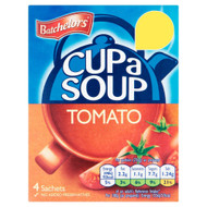 Batchelors Cup A Soup Tomato - 93g - Pack of 4 (93g x 4)