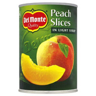 Del Monte Peach Slices in Light Syrup 420g Pack of 2