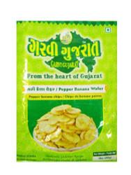 Garvi Gujarat - Black Pepper Banana Wafer - 180g (pack of 3)