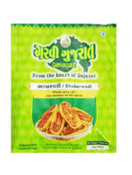 Garvi Gujarat - Wheat Spicy Rolls (Bhakarwadi) - 285g (pack of 3)