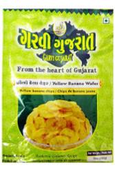 Garvi Gujarat - Yellow Banana Wafer - 180g (pack of 3)