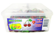 Jelly Molly - Double Cherry Jelly Sweets 120pcs + 10% Extra FREE