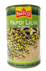 Natco - Papdi Lilva in Brine - 400g (pack of 2)