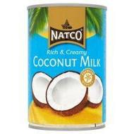 Natco Rich & Creamy Coconut Milk 400ml Pack of 2