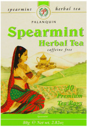 Palanquin's Spearmint Herbal Tea, 40 Tea Bags