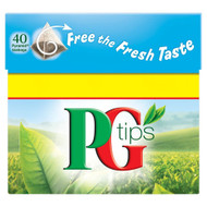 PG Tips Tea Bags - 40's