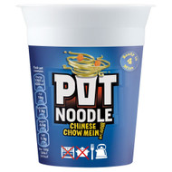 Pot Noodle Chinese Chow Mein Flavour - 90g - Pack of 2 (90g x 2)