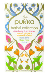 Pukka Tea - Herbal Collection - (Pack of 2) 34.4g net weight each