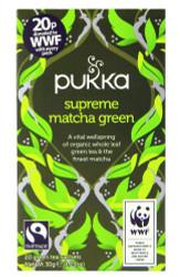 Pukka Tea - Supreme Matcha Green - (Pack of 2) 30g net weight each