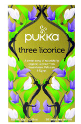 Pukka Tea - Three Licorice - (Pack of 2) 30g net weight each