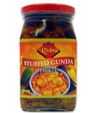 Rishta - Stuffed Gunda Pickle (cordia pickle)