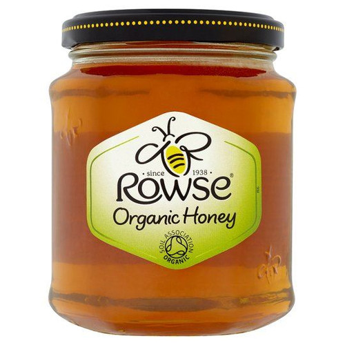 Rowse Organic Honey Clear - 340g