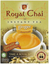 Royal Chai Ginger Instant Indian Tea Sweetened