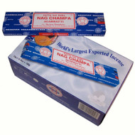 Satya Nag Champa Incense Sticks 15 gms (Special 12 Pack)
