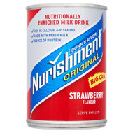 Dunn's River Nurishment Strawberry Flavour - 400g - Single Can (400g x 1 Can)