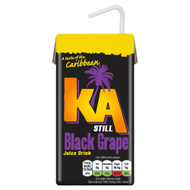 KA Caribbean Black Grape - 288ml - Pack of 2 (288ml x 2)