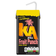 KA Caribbean Fruit Punch - 288ml - Pack of 2 (288ml x 2)