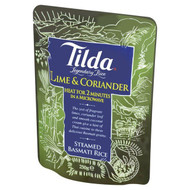 Tilda Steamed Basmati Lime and Coriander Rice - 250g