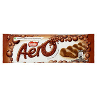 Aero Bubbly Milk Bar - 40g - Pack of 12 (40g x 12 Bars)