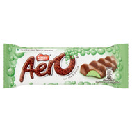 Aero Bubbly Mint Bar - 40g - Pack of 12 (40g x 12 Bars)