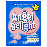 Angel Delight Strawberry Flavour - 59g - Pack of 6 (59g x 6)