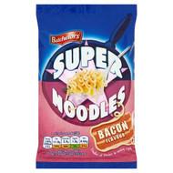 Batchelors Super Noodles Bacon - 100g - Pack of 6 (100g x 6)