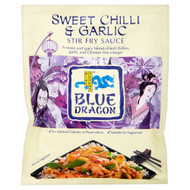 Blue Dragon Chilli & Garlic Stir Fry Sauce - 120g - Pack of 6 (120g x 6)