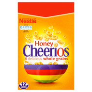 Nestle Honey Cheerios - 375g - Pack of 2 (375g x 2 Boxes)