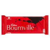 Cadburys Bournville Dark Chocolate - 180g - Pack of 6 (180g x 6 Bars)