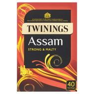 Twinings Assam Tea Bags - 40's - Pack of 4 (40's x 4)