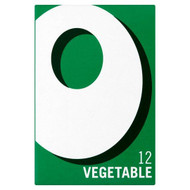Oxo 12 Vegetable Stock Cubes - 71g - Pack of 2 (71g x 2)