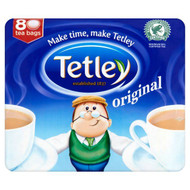 Tetley Original Tea Bags - 80's - Pack of 2 (80's x 2)