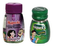 Dabur Hajmola Tablets Combo 2 -spearmint & tamarind- 120 tablets each