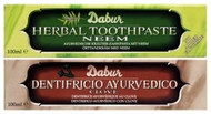 Dabur Herbal Toothpaste Combo Pack 2 - 100g -neem & clove-