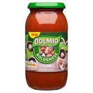 Dolmio Chunky Mushroom Bolognese Sauce - 500g - Single Jar (500g x 1 Jar)