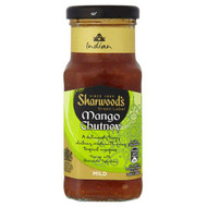 Sharwoods Mango Chutney - 227g - Pack of 2 (227g x 2 Jars)