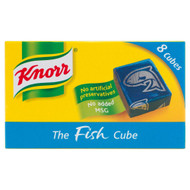 Knorr Fish Stock 8 Cubes - 80g - Pack of 4 (80g x 4)