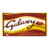 Galaxy Caramel Chocolate Block - 135g - Pack of 4 (135g x 4)