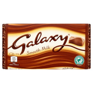 Galaxy Milk Chocolate Block - 114g - Pack of 2 (114g x 2)