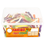 Haribo Crazy Python - 840g - Approx 120 Pieces