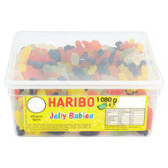 Haribo Jelly Babies - 1080g - Approx 600 Pieces