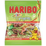 Haribo Sour Rainbow Spaghetti - 180g - Pack of 4 (180g x 4 Bags)