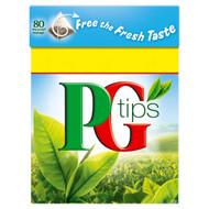 PG Tips Tea Bags - 80's - Pack of 4 (80's x 4)