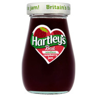 Hartleys Best Raspberry Jam Seedless - 340g - Pack of 2 (340g x 2)