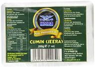 Heera Mini Papad Jeera Pack of 5 - 5 x 200g