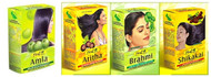 Hesh Herbal Amla Powder 100g, Hesh Brahmi Powder 100g, Hesh Shikakai Powder 100g, Hesh Aritha Powder 100g