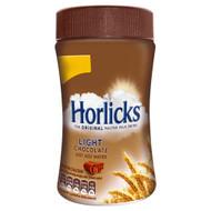 Horlicks Chocolate Light - 200g - Pack of 4 (200g x4)