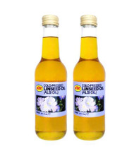 KTC 100% Pure Cold Pressed Linseed/Flaxseed Oil (Alsi Oil) - 250ml (pack of 2)